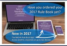 NACHA Rules 2017