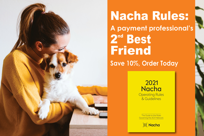 Save 10% on Your 2021 Nacha Rules Pre-Orders Today!